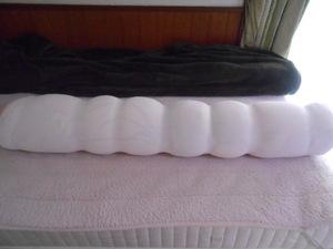 収納に困る冬の羽毛布団で作った抱き枕
